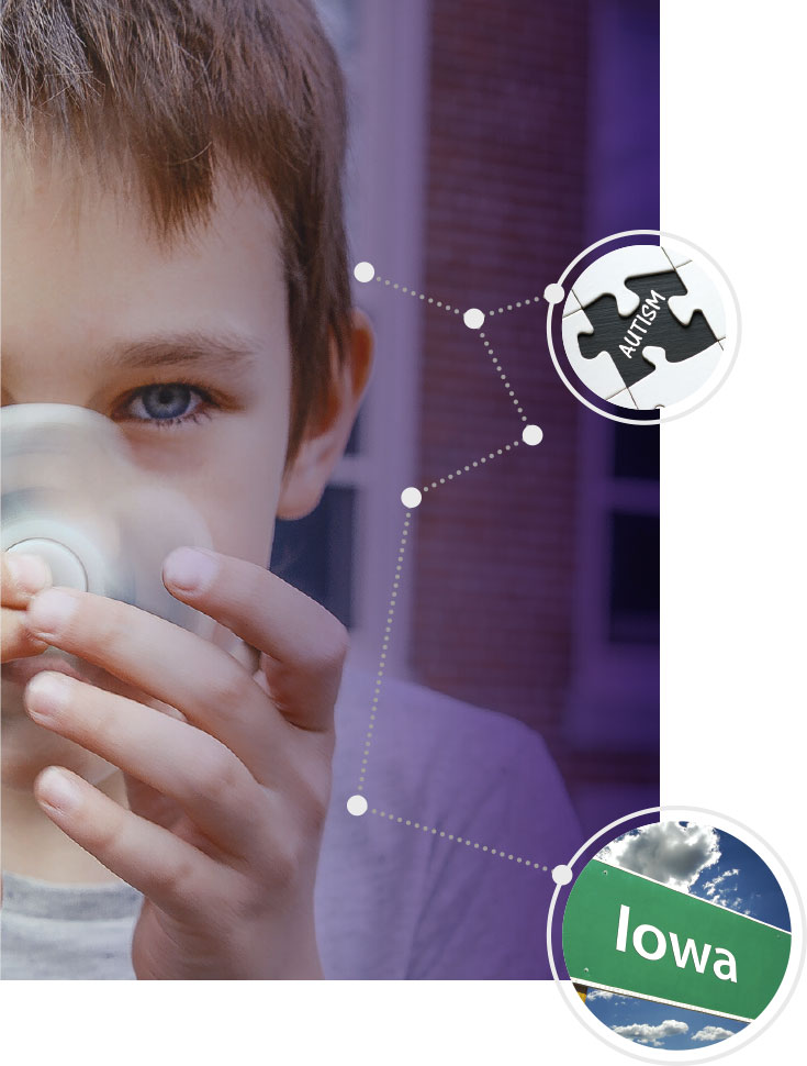 Northwestern Neurodevelopmental Disabilities Lab Iowa Families Autism Genetic Study